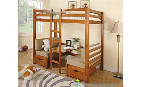 Convertible Bunk Bed Bunk Bed With Convertible Table Bed