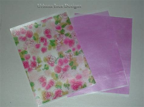 3 sheets printed edible wafer paper by
