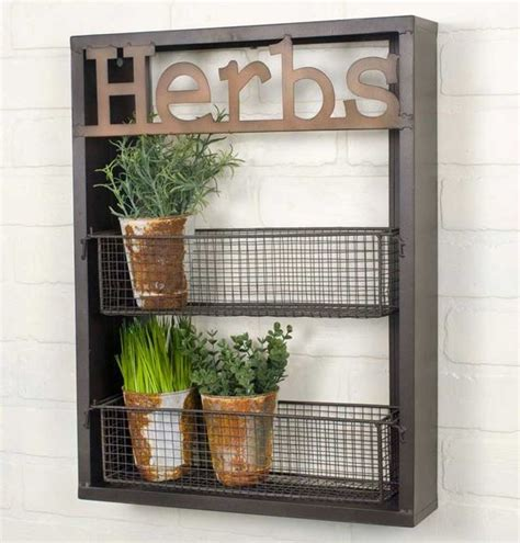 herb shelf kitchen garden quot herbs quot wall shelf tn550037 gardens herb