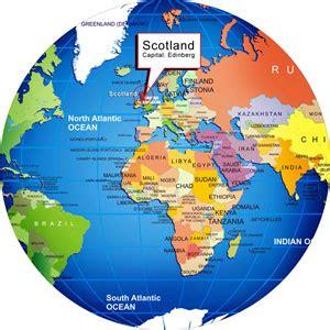 Scotland World Map by Scotland World Map Ireland Map