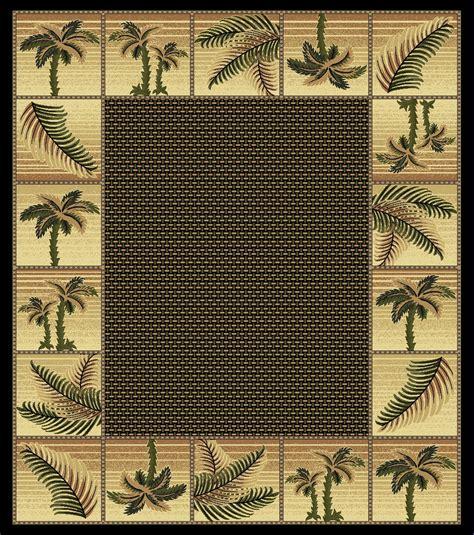 palm tree area rugs cheap black bahamas palm tree rug 2319 bahamas rugs