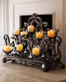 candle displays for fireplaces 12 beautiful styles and