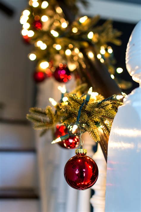Decorated Garland by Decorating Garland With Ornaments