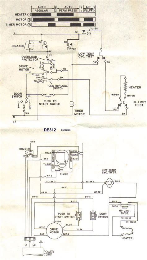 dryer wiring diagram schematic 30 wiring diagram images