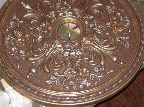 painting a ceiling medallion lynda bergman decorative artisan tutorial on painting