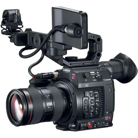 canon camara de video canon eos c200 ef cinema camera and 24 105mm lens kit 2244c002