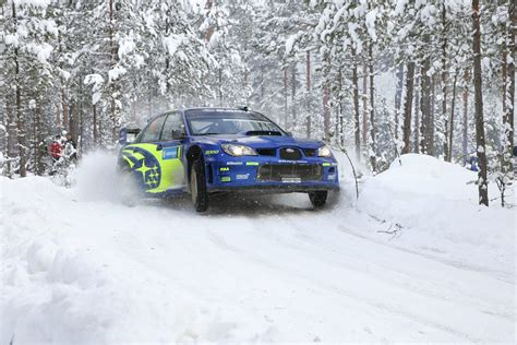 Subaru Rally Cars Snow