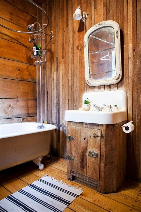 Rustic Cabin Bathroom Ideas - 39 cool rustic bathroom designs digsdigs
