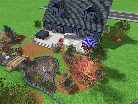 landscape design ideas for large backyards landscape design software gallery page 1