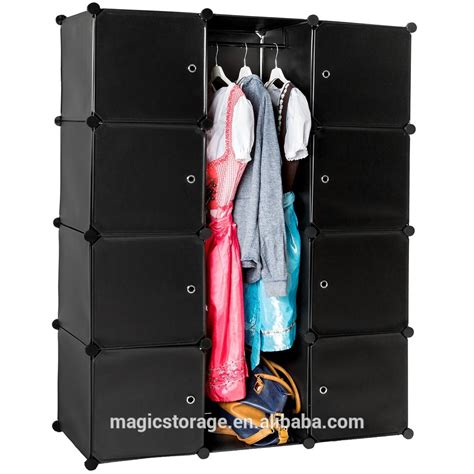 Plastic Wardrobe Fashion Bedroom Diy Plastic Wardrobe Cabinet Buy