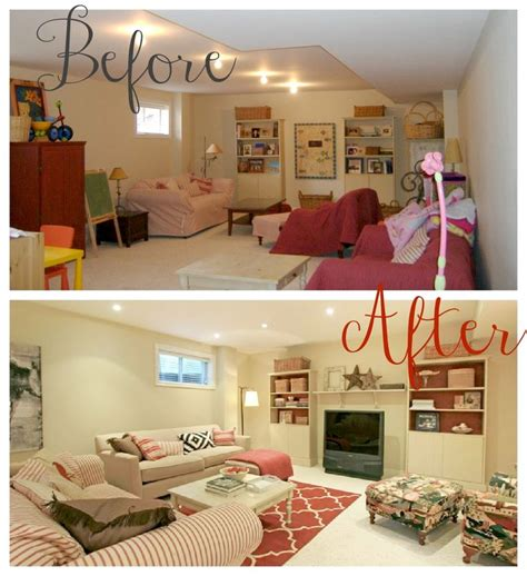 staging before and after helana and ali staging 101 where have i been basement family room before and after from my