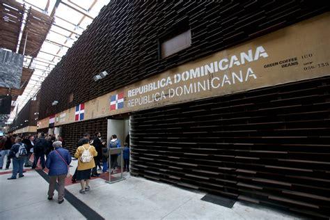 consolato dominicano in italia a expo 2015 le celebrazioni national day della