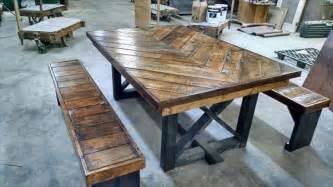 Kitchen Table Blueprints Kitchen Breathtaking Kitchen Table Diy Diy Dining Room Table Plans The Diy Pallet Chevron