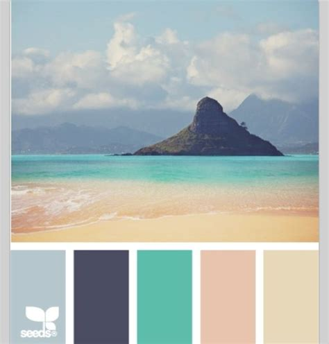 I think this color scheme is very unique and calming