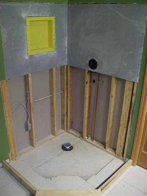 Installing Tile Shower Pan Tile Shower Pan Installation Step By Step Touchdown Tile
