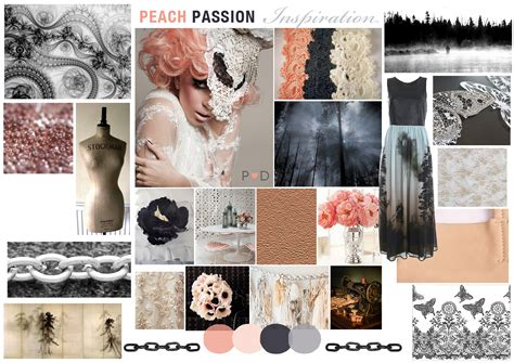 Fashion Design Mood Board | zine moodboard samantha beth rounding