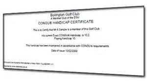 free golf handicap certificate template pin golf handicap certificate march madness tournament on
