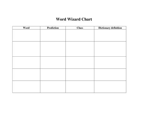 templates for words best photos of t chart template microsoft word free