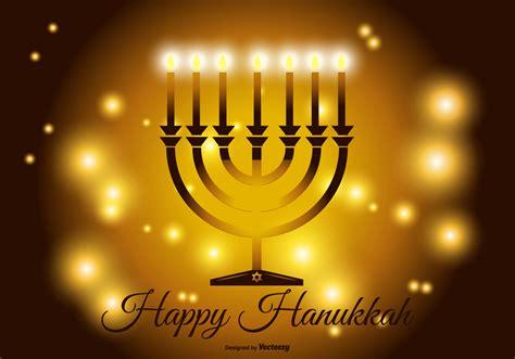 Happy Hanukkah by Happy Hanukkah Illustration Free Vector