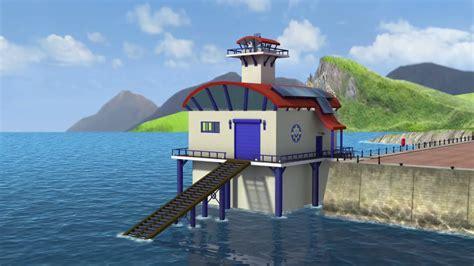 fireman sam boat house ocean rescue centre fireman sam wiki fandom powered by wikia