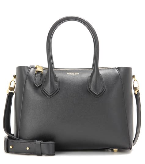 Helena Bag michael kors helena leather shoulder bag in black lyst