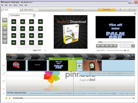 pinnacle video editing software free download full version for windows 7 videospin download