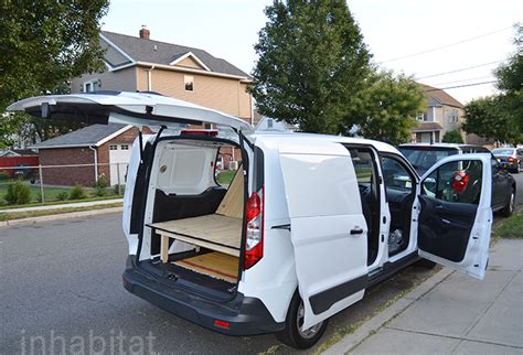 tent cers with bathrooms diy how to turn an ordinary cargo van into a cozy tiny