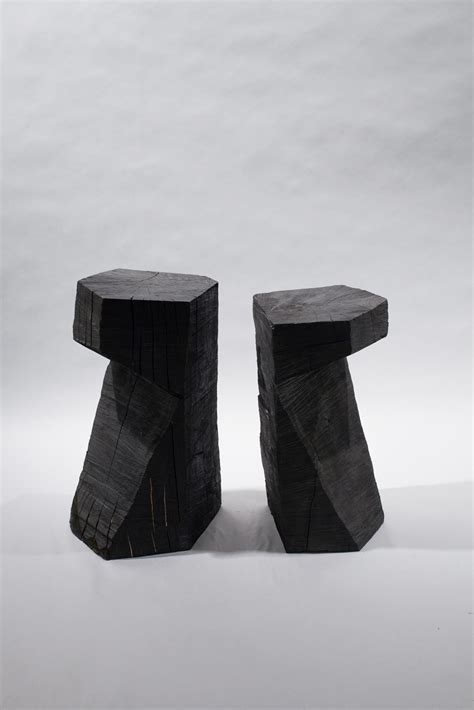 Saw Stool by Chainsaw Stools From Fort Standard Architonic
