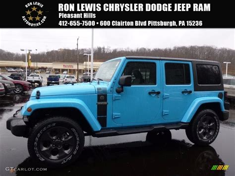 jeep chief color 2017 2017 chief blue jeep wrangler unlimited freedom edition
