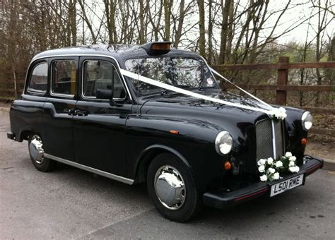 Wedding Cars Usk by Black Taxi Classic Black Taxi For Weddings In