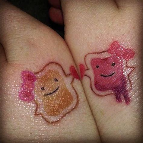 peanut butter and jelly tattoo peanut butter and jelly peanut butter jelly