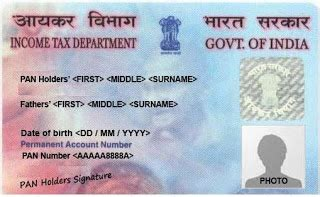 pan card how to check pan card permanent account number
