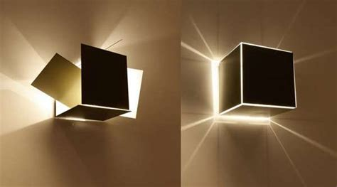 Collapsible Cube Lighting : Modular Lights