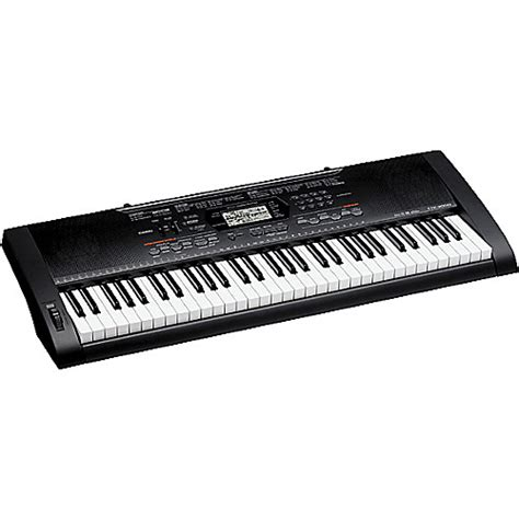 casio ctk 3000 61 key portable keyboard musician s friend