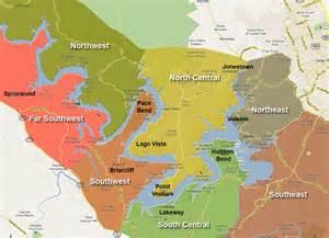 lake travis map lake travis area map tx