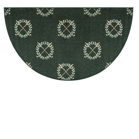 Goods Of The Woods Hearth Rugs by Goods Of The Woods Golf Club Half Hearth Rug 27