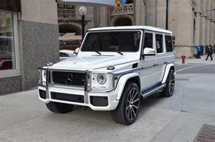 Mercedes G Class Used Mercedes G Class 2016 Suv Drive