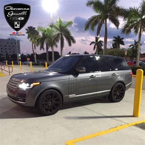 silver range rover black rims concave wheels for range rover giovanna luxury wheels