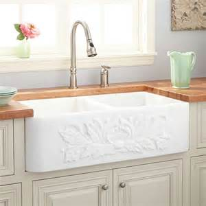 farmhouse kitchen sink white 36 quot polished marble bowl farmhouse sink white