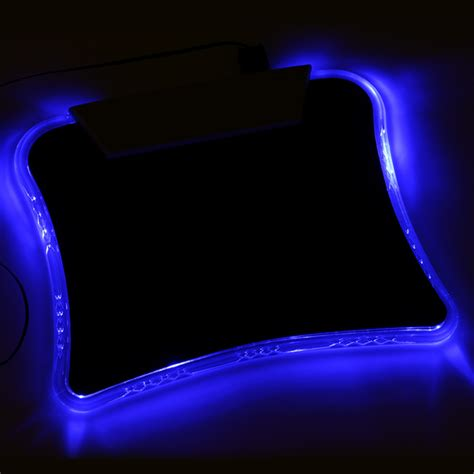 light up mouse pad w 4 port usb 1 1 hub closeout sorry
