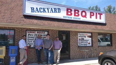 backyard barbecue pit durham outside of this fine establishment april 2016 yelp