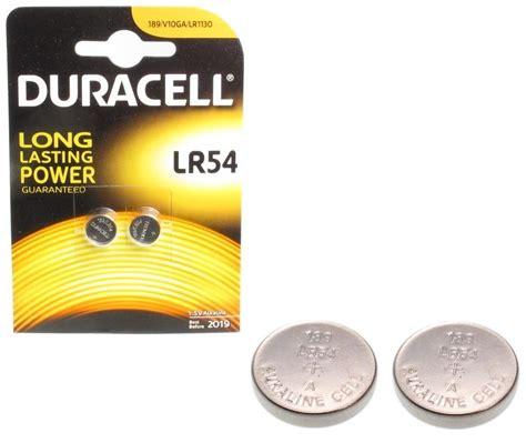 Baterai Lr 1130w Ag 10 2er blister lr54 alkaline 1 5v lr54 duracell www