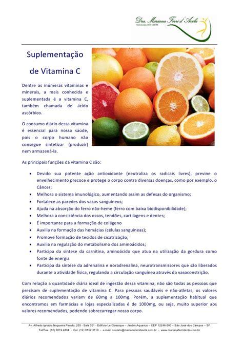 vitamina c1 curso de vitamina c