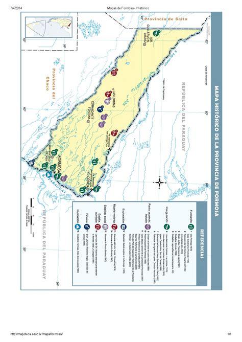 mapoteca la biblioteca de mapas de educ ar mapa para imprimir de formosa argentina mapa hist 243 rico
