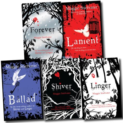 shiver books maggie stiefvater collection 5 books set forever ballad