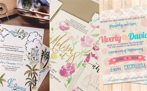 Marché Wedding Philippines   Top 12 Wedding Invitation