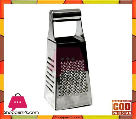 Promo 4 Way Grater Stainless Steel Parutan 4 Sisi Mutu Gts 48 4 way grater stainless steel shoppers pakistan