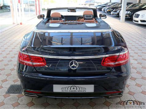Auto Singen by Mercedes S 500 Cabrio Convertible Auto Salon Singen