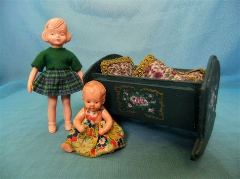 Plastic Doll Crib by 26 Best Images About Small Antique Vintage Doll S And