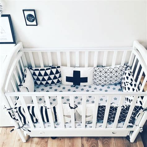 Handmade Nursery Bedding - 1000 ideas about crib bumpers on cribs diy